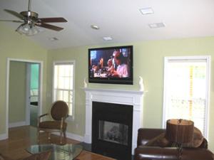 residential installations custom tv and sound total tech av. Black Bedroom Furniture Sets. Home Design Ideas